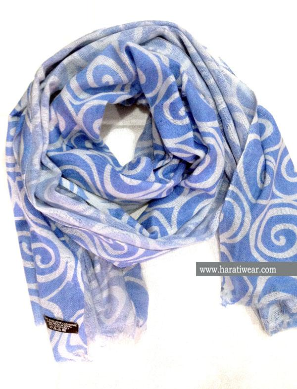 PRINTED ROUND SCARF